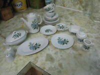 Vintage Child's Set of China Dishes, Made In Japan