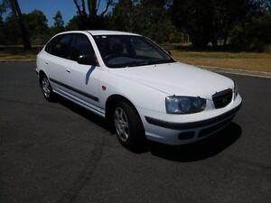 2000 Hyundai Elantra XD GL White 4 Speed Automatic Hatchback Ballina Ballina Area Preview