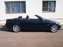 2002 BMW 330CI E46 MY2002 Orient Blue 5 Speed Automatic Convertible Petersham Marrickville Area Preview