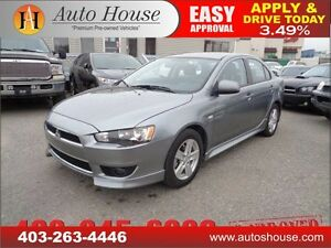 2014 Mitsubishi Lancer $0 DOWN AND $101 B/W!!