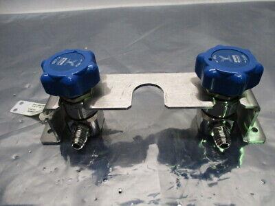 LAM 853-810342-001 Assy, 2 Parker Veriflo 944SSFSMMPM Diaphragm Valves, 45300507