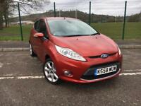 FORD FIESTA 1.4 TITANIUM 3 DOOR 2008 58 *LOW MILES, CLEAN CAR*