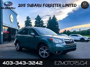 2015 Subaru Forester 2.5i Limited 1 OWNER!