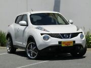 2014 Nissan Juke F15 MY14 ST-S 2WD White 6 Speed Manual Hatchback Melrose Park Mitcham Area Preview