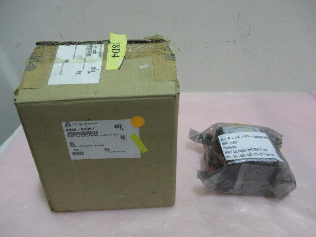 AMAT 4060-01097, FESTO, MANF GAS Panel Pneumatic 1/8T FTG DNET. 417721