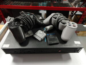 Sony Playstation 2 Console w/ 2 Controllers
