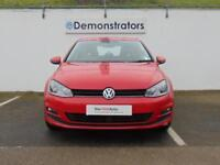 Volkswagen Golf MATCH EDITION TSI BMT (red) 2017-02-03