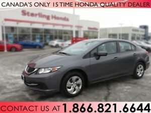2014 Honda Civic Sedan LX | NO ACCIDENTS | WINTER WHEELS