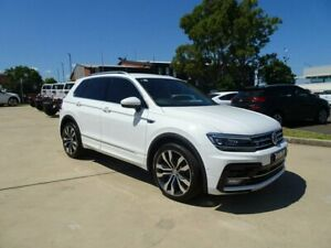 2017 Volkswagen Tiguan 5N MY18 162TSI DSG 4MOTION Highline Pure White 7 Speed Nowra Nowra-Bomaderry Preview