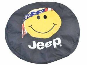 "Jeep Wrangler Spare Tire Cover 17"""