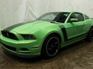 2013 Ford Mustang Boss 302 Coupe w/ 6spd Manual Transmission, RE