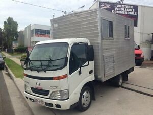 2002 Hino Dutro 3 Medium White Cab Chassis 4.6l 4x2 St Marys Penrith Area Preview