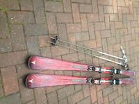 Atomic Hot Minx Ladies Skis plus bag