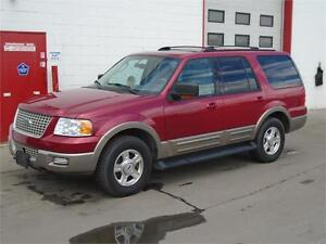 2003 Ford Expedition Eddie Bauer -- Sunroof, DVD -- $6900