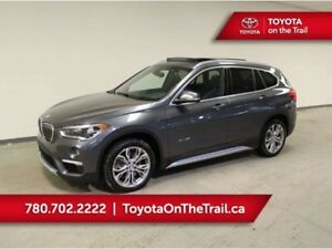 2017 BMW X1 X1; PANORAMIC SUNROOF, LEATHER, HEATED SEATS, SMAR