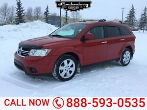 2012 Dodge Journey AWD RT Accident Free,  Navigation (GPS),  Rea
