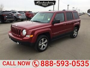 2016 Jeep Patriot 4WD HIGH ALTITUDE Accident Free,  Leather,  Su