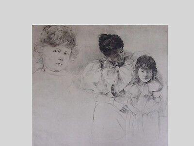 W.Rohr 1848-1907  - Frau mit Kind