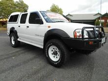 2004 Nissan Navara D22 Series 2 DX (4x4) White 5 Speed Manual 4x4 Dual Cab Pick-up Nailsworth Prospect Area Preview