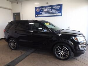 2017 Ford Explorer Sport 4WD LEATHER NAVI SUNROOF