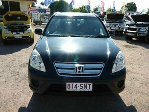 2006 Honda CR-V RD MY2006 4WD Black Manual Wagon Townsville Townsville City Preview