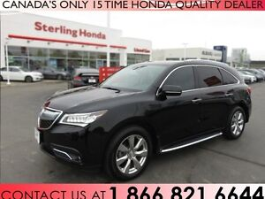 2016 Acura MDX ELITE PACKAGE | RUNNING BOARDS | LOW KM'S | NAVIG