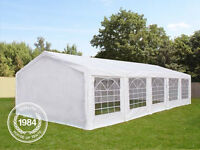 Perfect 04x10 Garden Marquee for Event & Party 10x04 Gazebo Tent - Unused - Special Price