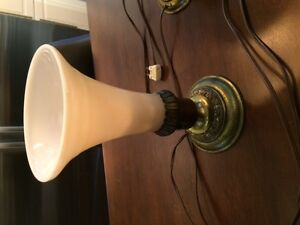 Art Deco antique pair of lamps. Pick up in St. Thomas