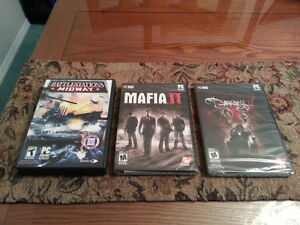 BRAND NEW SOME GREAT PC GAMES