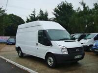 2012 FORD TRANSIT 2.2 TDCi 350 LWB High Roof Euro 5 NO VAT