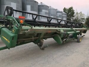 John Deere 936D Straight Cut Headers (3 units)