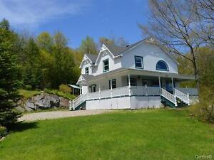 Beautiful 3 Bdrm Home w/ 7 Acres, Pond, Privacy & Mountain Views