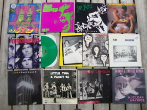 "Vinyl LP Records -many 1990's and newer +7"" singles, DVD's,+more"