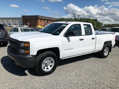 2015 Chevrolet Silverado 1500 Double Cab 4x4 w/ Bed Cover Work Truck 2015 Chevrolet Silverado 1500 Double Cab 4x4 w/ Bed Cover Work Truck 100754 Mile