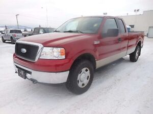 2007 Ford F-150 XLT 4x4 Super Cab Styleside 8 ft. box 163 in. WB