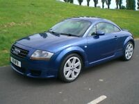 Audi Quattro TT 3.2 DSG Auto 4WD - Excellent condition Comprehensive history Tracker Leather A/cond