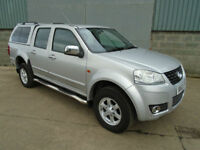 Great Wall Steed SE TD double cab 4WD pick up 2013 NO VAT