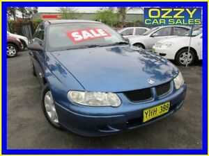 2002 Holden Commodore VX II Executive Blue 4 Speed Automatic Sedan Minto Campbelltown Area Preview