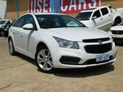 2015 Holden Cruze JH MY14 Equipe White 6 Speed Automatic Sedan Belconnen Belconnen Area Preview