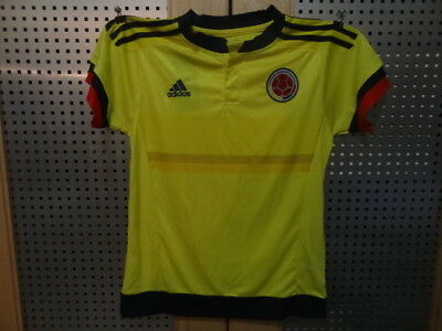 Colombia home soccer uniform 2015/16 for kids 10-12 years old - 10 Home Uniform