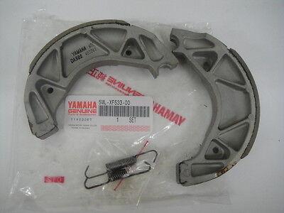 YAMAHA ZUMA 125 BWS X 125 NXC125 HW151 Genuine BRAKE SHOE SET 5ML-XF533-00