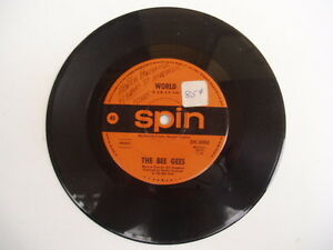 BEE-GEES-World-Sir-Geoffrey-SPIN-RARE-OZ-45