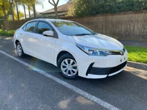 2018 Toyota Corolla ZRE172R Ascent S-CVT White 7 Speed Constant Variable Sedan Hawthorn Mitcham Area Preview