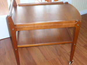 Mid Century Modern Teak Table /Trolley - Vintage