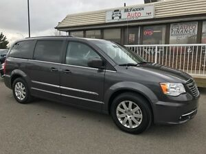 2016 Chrysler Town & Country Touring with Dual DVD's