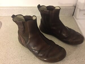 El Naturalista - Brown Slip-On Boots - Men's Size 12 - Used