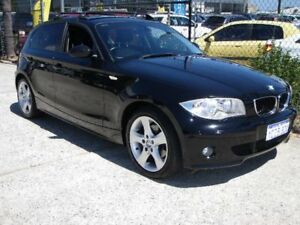 2007 BMW 120i E87 Black 6 Speed Manual Hatchback Wangara Wanneroo Area Preview