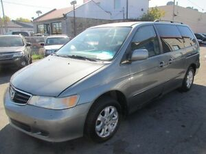 2002 Honda Odyssey vehicules d'occasion
