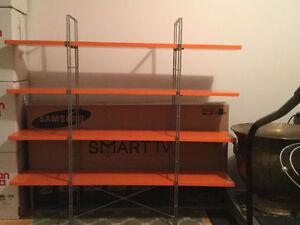 Orange Modern Shelf
