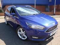 15 FORD FOCUS 1.6 TDCI ZETEC DIESEL ESTATE *£20 ROAD TAX*